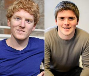 John (right) and Patrick Collison created online payment business Stripe