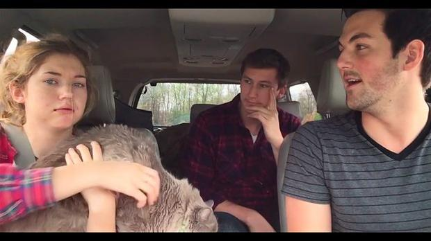 Three brothers prank their younger sister about the zombie apocalypse