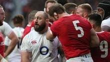 England's Joe Marler has been banned for ten weeks for grabbing Wales' Alun Wyn Jones by the testicles during last week's Six Nations clash. Photo: Charlotte Wilson/ Getty Images