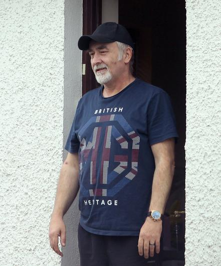 David Park at his home in Omagh last week