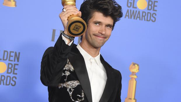 Ben Whishaw was honoured with the award for best performance by an actor in a supporting role in a series (Jordan Strauss/Invision/AP)