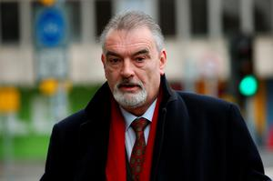 Ian Bailey arrives at the Four Courts in Dublin on Monday (Brian Lawless/PA Wire)