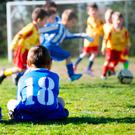 Footballers under the age of 12 will no longer be allowed to head the ball under new rules planned by the Scottish Football Association (SFA). (Stock image)