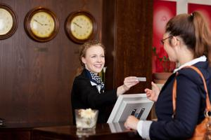 Distance: The hotel check-in experience will be different after the pandemic