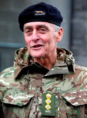 The Duke of Westminster during a parade before The Queens Own Yeomanry as they are conferred the Freedom of South Ayrshire at a parade through the streets of Ayr
