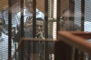 An Egyptian court overturned a three-year prison sentence against ousted president Hosni Mubarak on corruption charges and ordered a retrial yesterday (Getty Images)