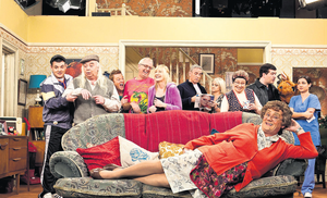 Mrs Brown's Boys has been a ratings winner, despite its traditional sitcom format.