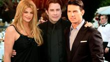 Kirsty Alley, John Travolta and Tom Cruise.
