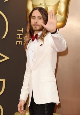 Actor Jared Leto attends the Oscars held at Hollywood & Highland Center on March 2, 2014 in Hollywood, California.  (Photo by Jason Merritt/Getty Images)