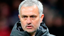 "'The latest to be in Mourinho's firing line are the Premier League who, it seems, have been added to a Trumpian list of ""enemies"" because they fixed yesterday's United game for midday rather than tonight.' Photo credit: Martin Rickett/PA Wire"