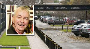 The Central Remedial Clinic: Inset: Paul Kiely, recently retired Chief Executive of the Central Remedial Clinic