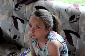 Undated handout photo issued by Nottinghamshire Police of Amber Peat, 13, from Mansfield, as police renewed an appeal to find the teenage girl who went missing after a row with her family. Nottinghamshire Police/PA Wire