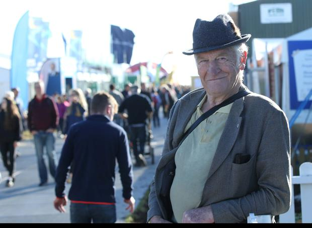 Peader Collen from Wicklow at at the National Ploughing Championships. Picture: Stephen Collins/Collins Photos