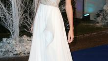 LONDON, ENGLAND - NOVEMBER 26:  Singer Taylor Swift arrives at Kensington Palace for the Centrepoint Winter Whites Gala on November 26, 2013 in London, England.  (Photo by Chris Jackson/Getty Images)