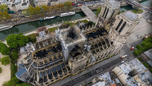 Business owners have offered millions to restore the devastated Notre Dame cathedral after the fire