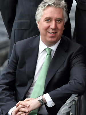 John Delaney contrasted the work of UEFA against the scandal that has enveloped FIFA