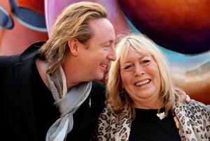 File photo dated 09/10/10: Julian and Cynthia Lennon. Photo: Dave Thompson/PA Wire