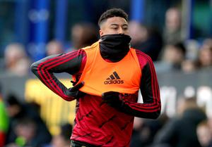 Jesse Lingard is set to feature at Norwich (Peter Byrne/PA)