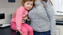 Aisling Healy pictured with her daughter Moli Raye Barry (3) at their new home at 13 Byrne Avenue, Ballinacurra Weston,  Limerick. Picture: Don Moloney / Press 22