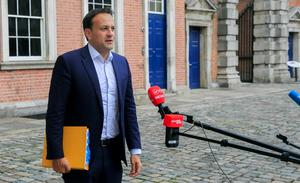 Mortgages: Tánaiste Leo Varadkar sparked fury among bankers with comments on payment breaks. Photo: Gareth Chaney, Collins