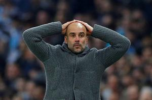 At a time when the City squad requires a rebuild and Guardiola is targeting as many as five new signings this summer, UEFA's decision threatens to throw an almighty spanner in the works. Photo: Reuters/Phil Noble/File Photo