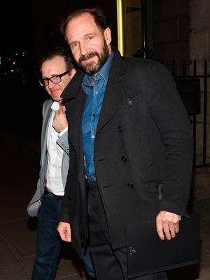 Ralph Fiennes attends Michael Colgan's final farewell as Artistic Director of The Gate Theatre