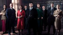 The crew of hit crime drama Peaky Blinders, starring Cillian Murphy (middle), will return for a final season