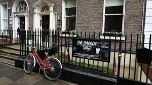 """Court proceedings: The basement property called the The Baggot at 127 Lower Baggot Street which is now the subject of protracted legal proceedings with the landlord over the use of the venue which, according to the affidavit submitted to court, states that gardai conducting a raid found """"a man tied to a large crucifix who was having his naked bum whipped"""""""