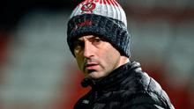 Derry football manager Rory Gallagher. Photo: Sportsfile