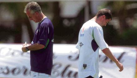 Roy Keane and Mick McCarthy fell out before the 2002 World Cup. Photo: SPORTSFILE