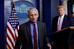 Under pressure: Anthony Fauci said his advice was ignored. Picture: Reuters