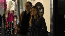 Hollywood couple Matthew Broderick & Sarah Jessica Parker spotted out amongst the Christmas shoppers in Dublin City Centre