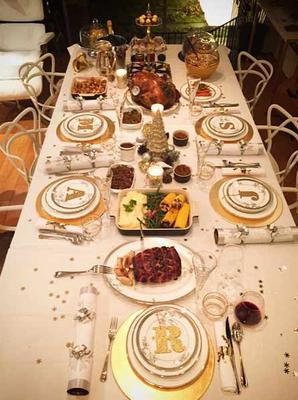 The table the family dined at