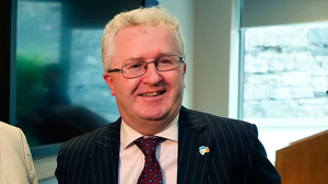 Regret: Mr Justice Séamus Woulfe was quick to apologise for what he called 'an unintentional breach' of the restrictions. Photo: Brian Lawless/PA Wire...A