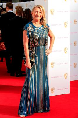 LONDON, ENGLAND - MAY 10:  Amanda Redman attends the House of Fraser British Academy Television Awards (BAFTA)  at Theatre Royal on May 10, 2015 in London, England.  (Photo by John Phillips/Getty Images)