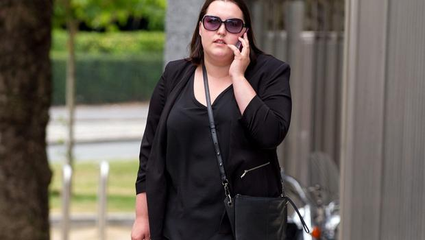 Pic Shows: Axenia Alexei at Dublin Circuit Criminal Court where she has received a two years suspended sentence, Monday 22-06-2015. Re: Axenia Alexei (30), of Rossvale, Portlaoise pleaded guilty at Dublin Circuit Criminal Court to stealing a total of €15, 339 from the Department of Social Protection at Swords Post Office, Swords, Dublin between July 2012 and March 2014. Pic: Court Collins.
