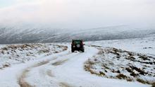 Along with frigid temperatures, significant snowfalls are expected in the north and north-west Photo: Niall Carson/PA Wire