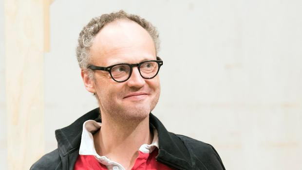 Alex Beckett in rehearsals for The Way Of The World (Johan Persson)