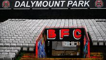 Dalymount Park in Dublin, home of Bohemian FC. Photo: Stephen McCarthy/Sportsfile