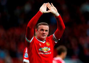 Wayne Rooney ended his goal drought