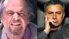 Jose Mourinho made a speech similar to the one made famous by Jack Nicholson in The Departed