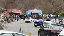 Thousands flocked to Glendalough over the weekend