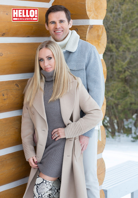 No longer on ice: Kevin Kilbane and Brianne Delcourt will wed in September or October of this year. Photo: Hello!