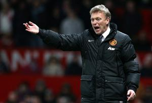 Manchester United Manager David Moyes. Getty Images