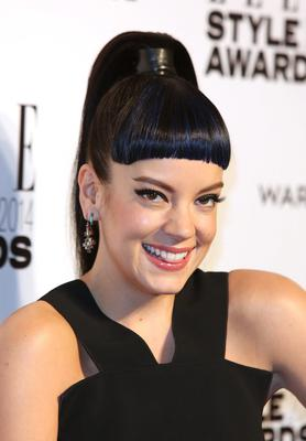 Lily Allen attends the Elle Style Awards 2014 at one Embankment on February 18, 2014 in London, England.  (Photo by Tim P. Whitby/Getty Images)