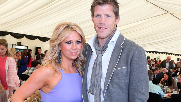 Sarra Elgan and her husband Simon Easterby Picture: Steve Pope