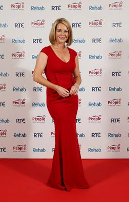 Claire Byrne at the 2016 Rehab People of the Year Awards at Citywest Hotel. Picture: Robbie Reynolds