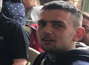 Fatal accident: Stephen O'Callaghan (21) was riding his scrambler bike on a woodland track outside Blarney, Co Cork, when he lost control