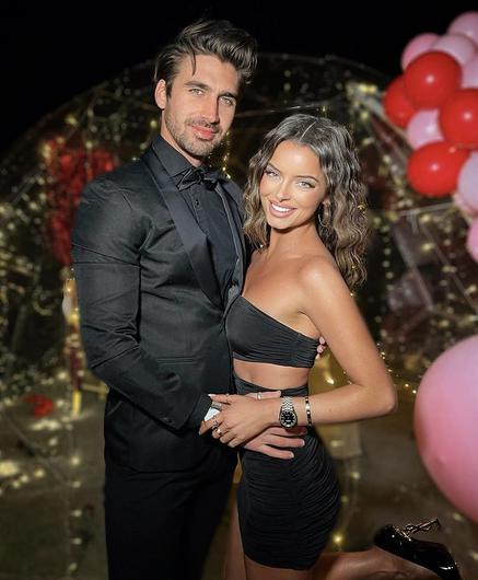 Maura Higgins with partner and former Love Island star Chris Taylor
