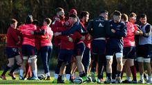 Munster will return to training next week